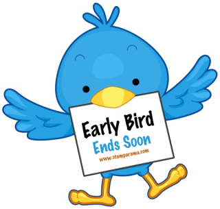 Early bird ends soon